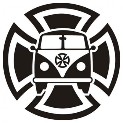 Maltese campervan sticker