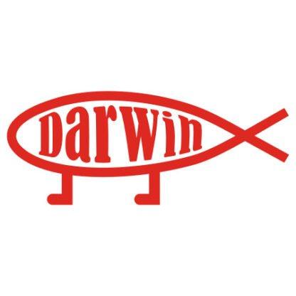 Darwin evolution sticker