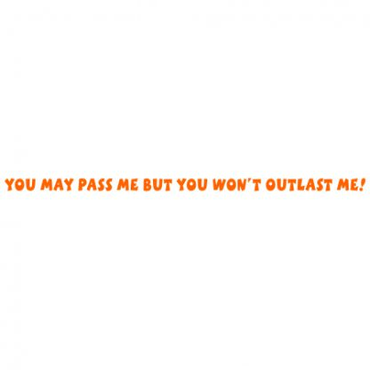 You may pass me sticker
