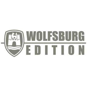 Wolfsburg edition car sticker
