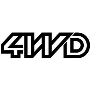 4WD sticker