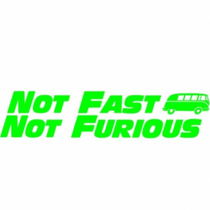 Fast and furious split sticker
