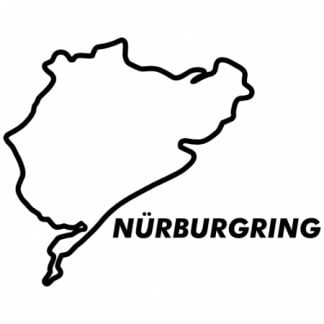 Nurburgring sticker
