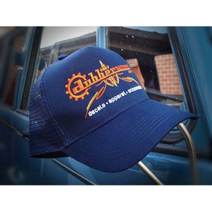 Pinstripe dubberware trucker cap