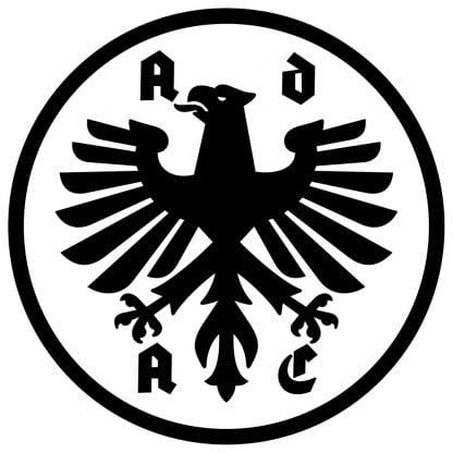 ADAC round sticker