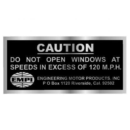 Do Not Open Windows