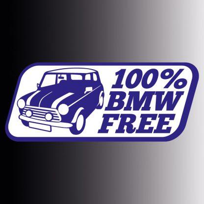 100% BMW free