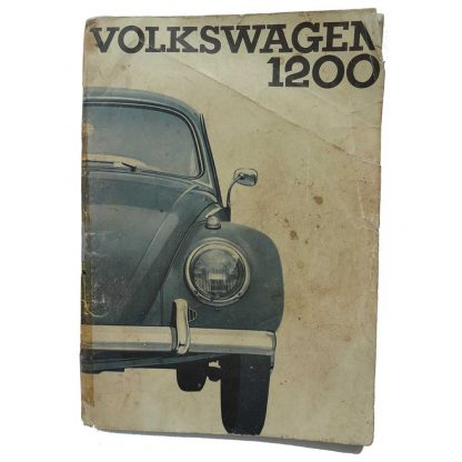 1964 Beetle Owners Manual