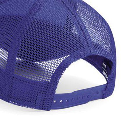 Baseball cap mesh rear
