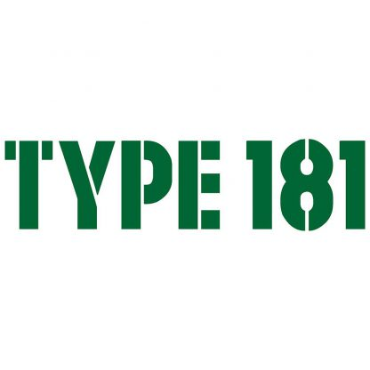 Type 181 Sticker
