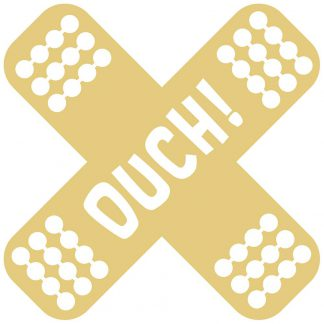 Ouch! Sticker