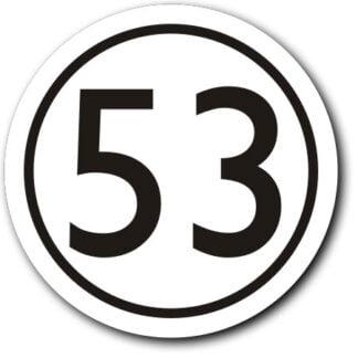 Herbie 53 tax disc holder