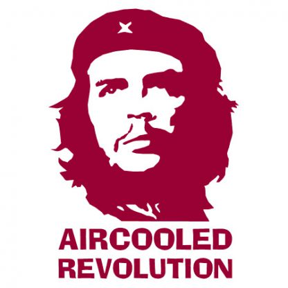Che Guevara Aircooled revolution sticker