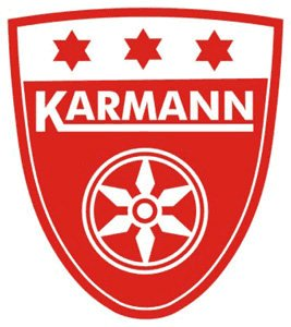 Karmann shield sticker
