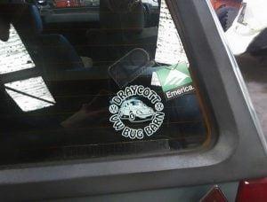 Draycott Bug Barn Stickers