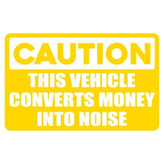 Converts money sticker