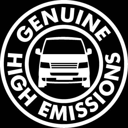 High Emissions decal