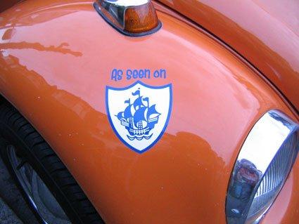 Blue Peter Sticker