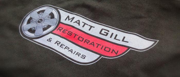 Matt Gill T-shirt Print