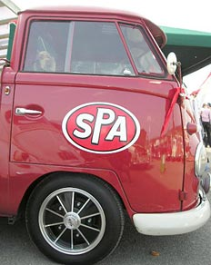 SPA sticker