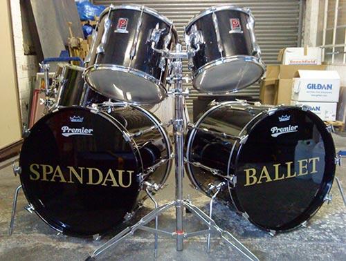 Spandau Ballet Drums