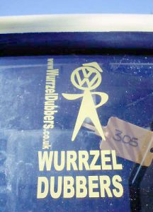Wurzel Dubbers Sticker