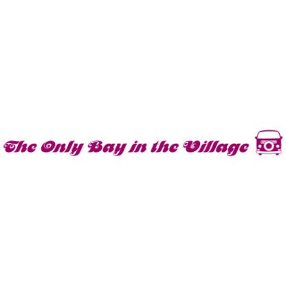 The only bay in the village sticker