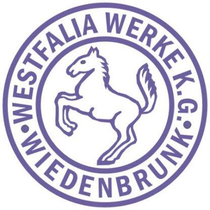 Westfalia round badge sticker