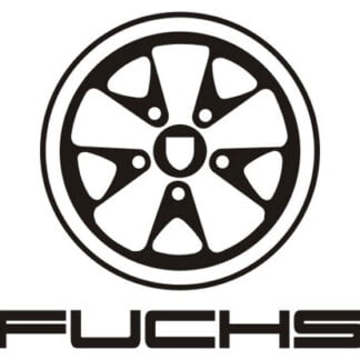 Fuchs wheel sticker