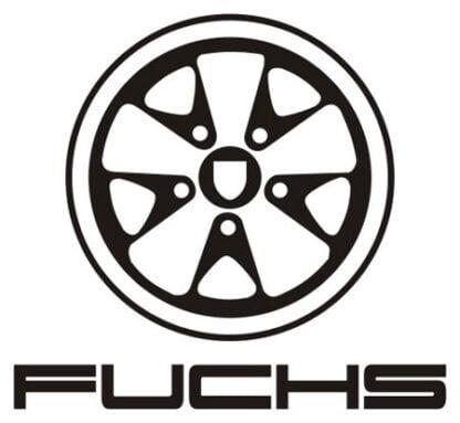 Fuchs wheel sticker