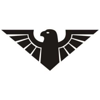 Eagle symbol sticker