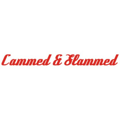 Cammed and slammed car sticker