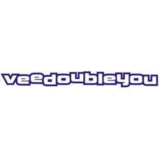 veedoubleyou sticker