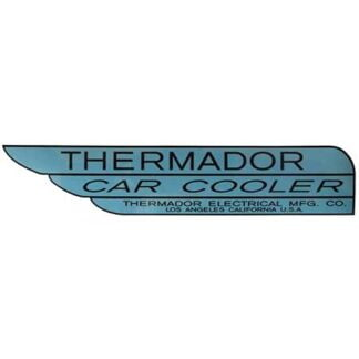 Thermador car cooler sticker