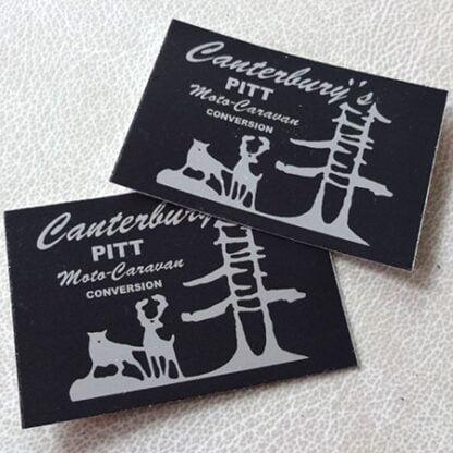 Canterbury Pitt sticker