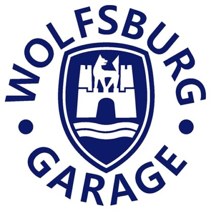 Wolfsburg garage sticker