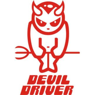 Devil driver car sticker