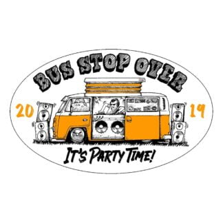 Bus Stopover 2019 sticker