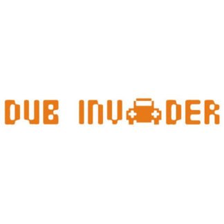 Dub Invader sticker
