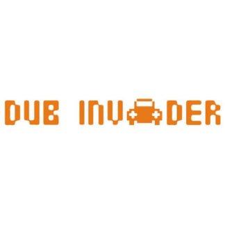 Dub Invader sticker