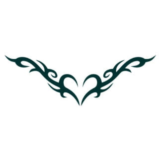 celtic heart decal