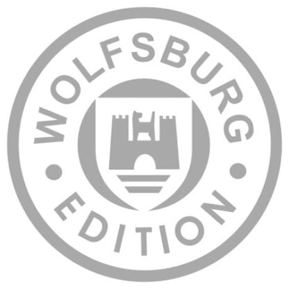 Wolfsburg edition sticker