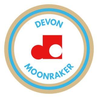 Devon dash moonraker sticker decal